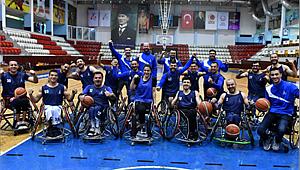 İBB Tekerlekli Sandalye Basketbol Takımı Gönüllerin Şampiyonu!