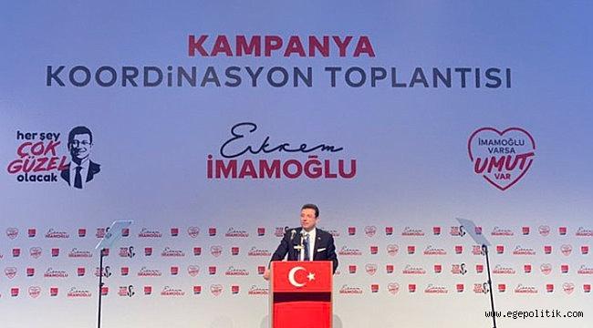 İmamoğlu, Seçim Kampanyasını Başlattı
