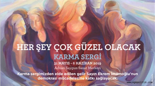 """İzmir'de """"Her Şey Çok Güzel Olacak"""" Temalı Resim, Heykel ve Seramik sergisi"""