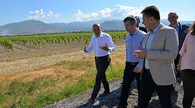 Soyer'den tarımsal kalkınma için ilk adım