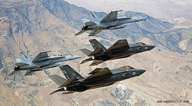 ABD'de de F35 Eğitimleri Kesildi