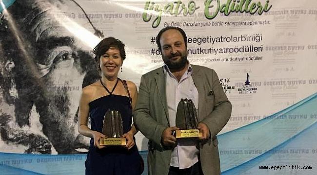 Bornova Belediyesi Şehir Tiyatrosu İki Dalda Ödül Aldı