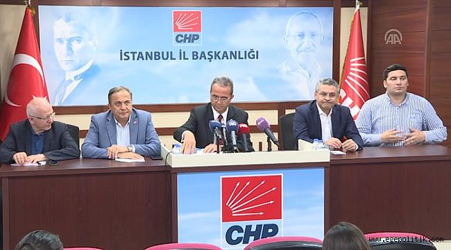 CHP'den Seçim Kuruluna İtiraz Görüntülerine İlişkin Açıklama