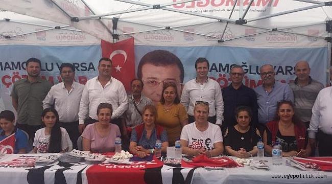 CHP Karabağlar'dan 23 Haziran Seçimleri İçin İstanbul Çıkarması