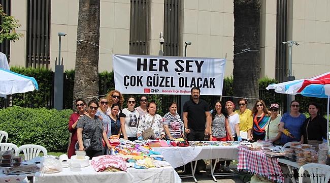 CHP Konak'tan Ekrem İmamoğlu'na Kermes Desteği