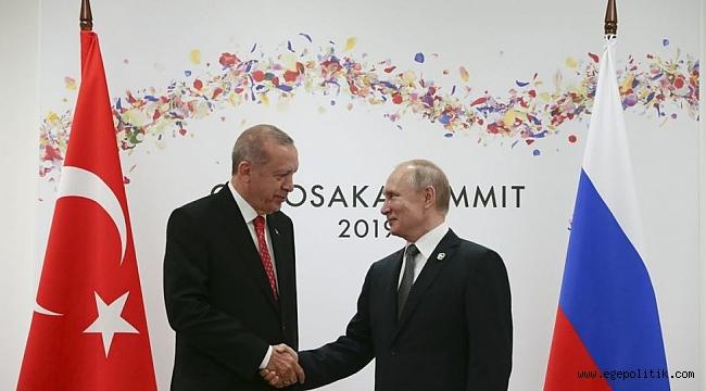 Erdoğan ile Putin G20'de Görüştü
