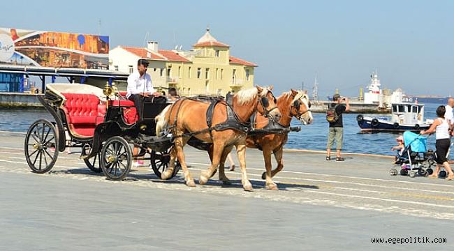 İzmir'de Fayton Artık Yasak!