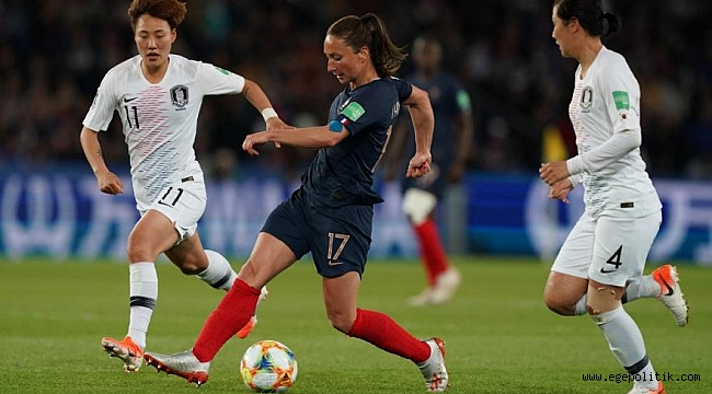 Kadınlar Dünya Kupası Açılış Maçında Fransa Güney Kore'yi Yendi