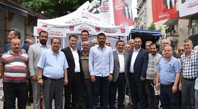 Menemen Belediye Başkanı Aksoy İmamoğlu'na Destek İçin  İstanbul'da
