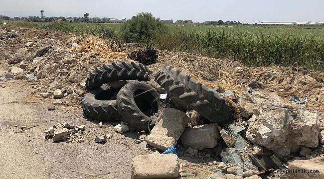 Menemen'de Tarım Arazilerinin İçler Acısı Hali