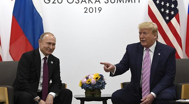 Trump, Rusya Lideri Putin'e Şaka Yaptı