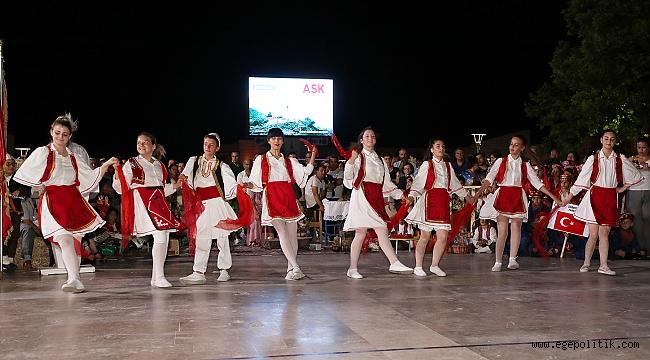 Urla'da Düzenlenen Uluslararası Çocuk Halk Dansları Festivali Sona Erdi