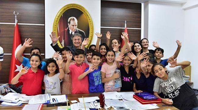 Başkan İduğ'dan çocuklara havuz müjdesi