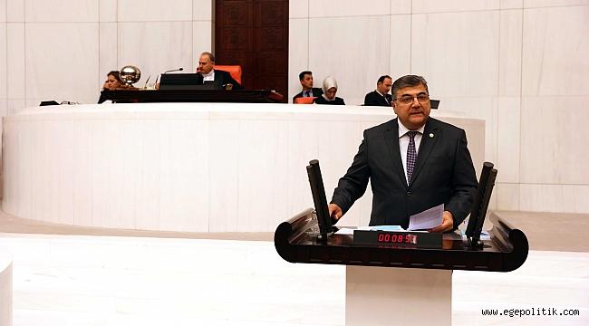 """CHP'li Sındır, """"bu torba yasa derin ekonomik krizin ve çaresizliğinizin itirafıdır"""""""