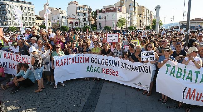 Foça Belediye Başkanı Fatih Gürbüz; Kazdağları Hepimizin