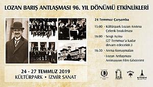 LOZAN ZAFERİ'NİN 96'NCI YIL COŞKUSU