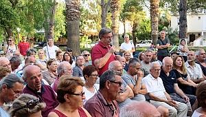 YENİ FOÇA'DA HALK TOPLANTISI