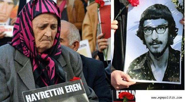 39 yıl oğlunu arayan Cumartesi Annesi Elmas Eren vefat etti