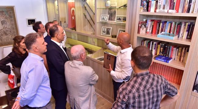 Ata Anı Evi'ne Makedonya'dan ziyaretçi