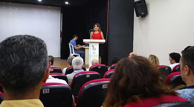 BAYRAKLI'DA 'DEPREM' PANELİ