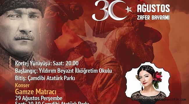 Bornova Belediyesi'nden 30 Ağustos'a özel   Konser