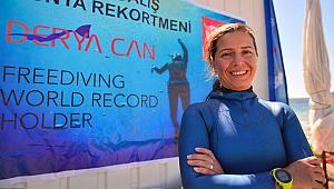 Derya Can Salda Gölü'nde rekora dalacak