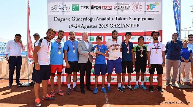 Doğu ve Güneydoğu Anadolu Takım Şampiyonası'nda kupalar sahiplerini buldu