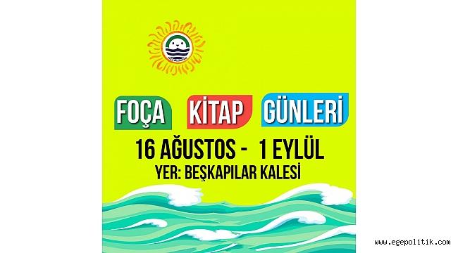 """""""FOÇA KİTAP GÜNLERİ"""" YARIN BAŞLIYOR"""