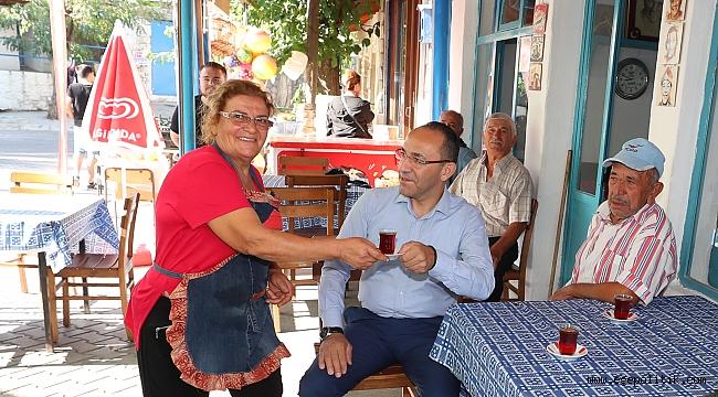 Köyün 'eli hamurlu' kahvecileri