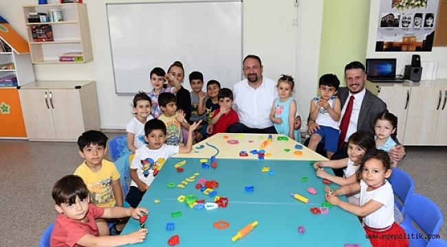 Okul Öncesi Eğitimin Adresi Çiğli Belediyesi
