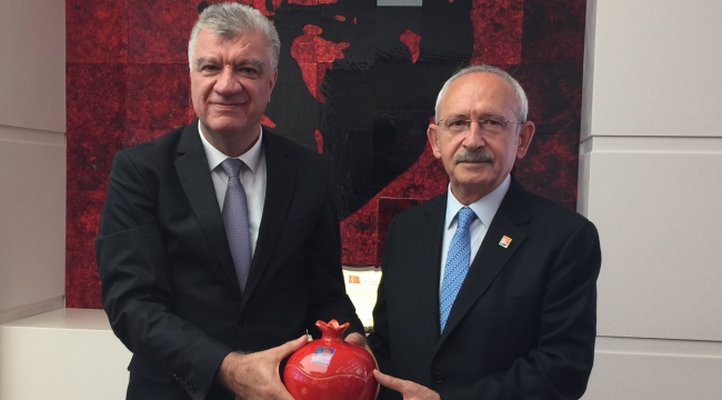 Başkan Ali Engin, Kılıçdaroğlu'nu ziyaret etti!