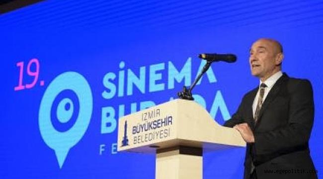 Başkan Soyer&rsquo ;den sinema sektörüne iki müjde