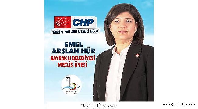 Bayraklı Belediye Meclis Üyesi Emel Arslan Hür'den Örnek Davranış