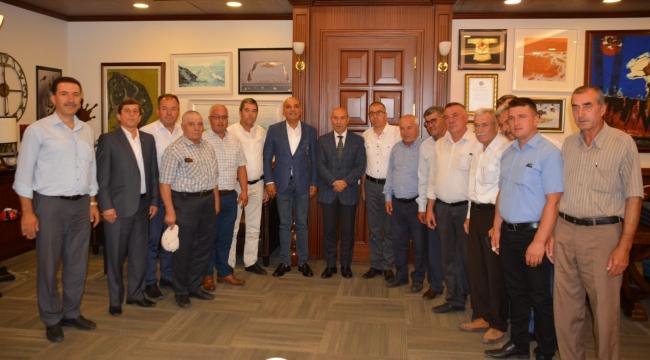 CHP'li Polat ve Kozak Yaylası Muhtarlarından Soyer ve Tugay'a Ziyaret