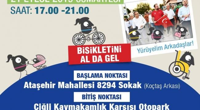 Hem sokaklar temizlenecek hem de bisiklet sürülecek