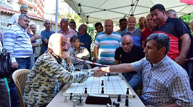 İlk kez düzenlenen Uluslararası Türk Daması Turnuvası  geleneksel hale getirilecek