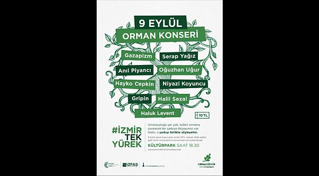 İzmir'de 9 Eylül'de anlamlı konser