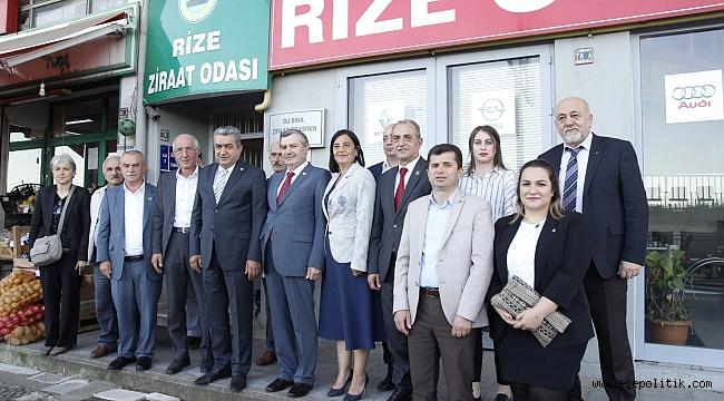 """İzmir Milletvekili Bedri Serter:  """"Rize halkının """"çayımıza dokunmayın"""" çağrısını duyun"""""""