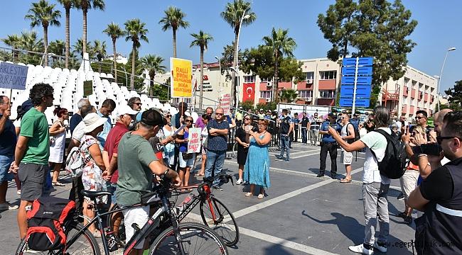 MARMARİS'TE DÜNYA RALLİSİ BAŞLAMADAN PROTESTOLAR BAŞLADI!