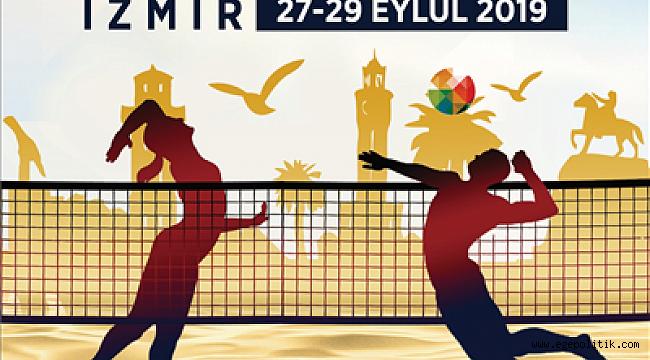 Plaj Voleybolu Balkan Şampiyonası İzmir'de