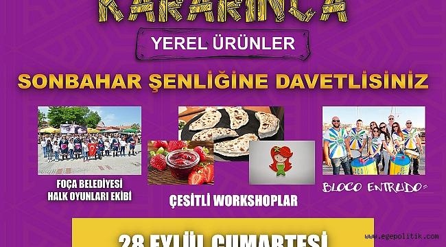 YEREL ÜRÜNLER PAZARINDA ''SONBAHAR ŞENLİĞİ''