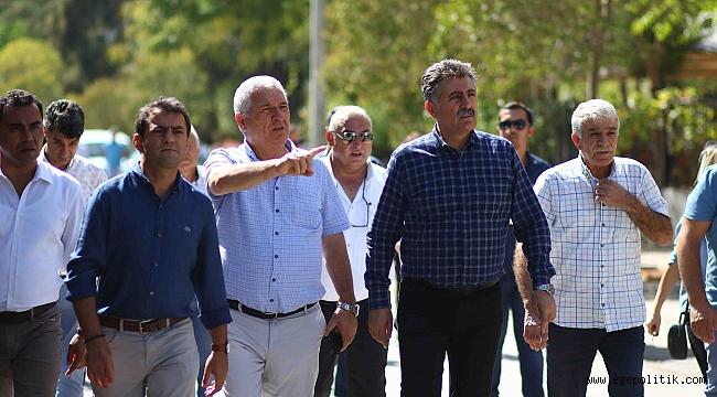 Başkan Sandal; Bayraklı kentsel dönüşümle gelişecek