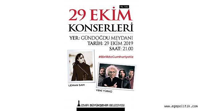 İzmir'de Cumhuriyet Bayramı kutlamalarının programı
