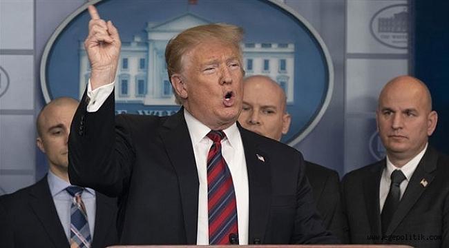 Trump'tan yeni açıklama