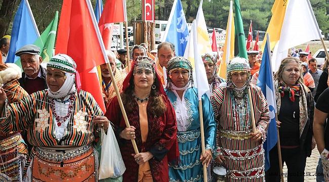 Yüzlerce yıllık Yörük ve Türkmen geleneği Buca'da yaşatıldyaşatıldıı