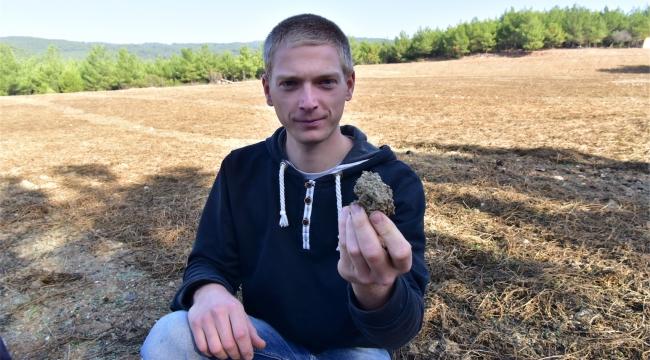 Alman öğrenci staj için Bornova'yı seçti