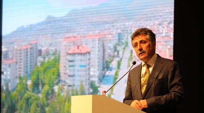 Başkan Sandal, kentsel dönüşümü anlattı