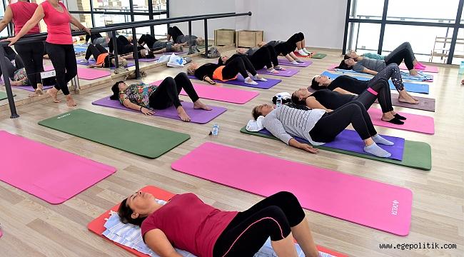 Bornova'da stresin ilacı: Yoga