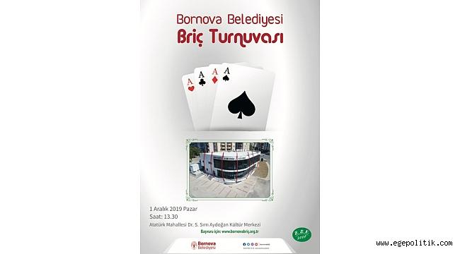 Briç heyecanı Bornova'da yaşanacak