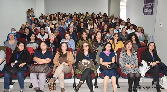 Menemenli kadınlar çalıştayda buluştu